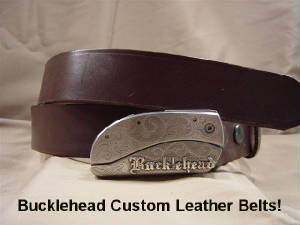 Bucklehead Quality Leather Belts Now Online - Buy Leather Belts!