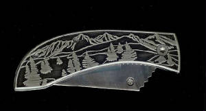 Closeout Basic Tree Scene Replacement Knife