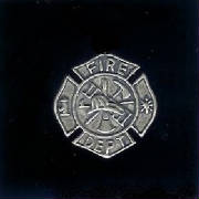 Sterling Silver Fire Fighter Symbol - Click Below To View Our Add Sterling Silver Pages!