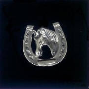 Sterling Silver Horseshoe & Horse!