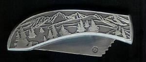 Tree Scene Plate Replacement Knife