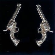 Sterling Silver Six Guns!