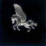 Sterling Silver Winged Horse!